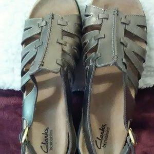 Clarks bendables sandals.